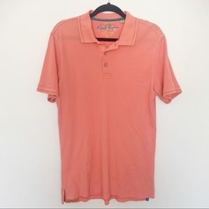 Robert Graham Salmon Polo M